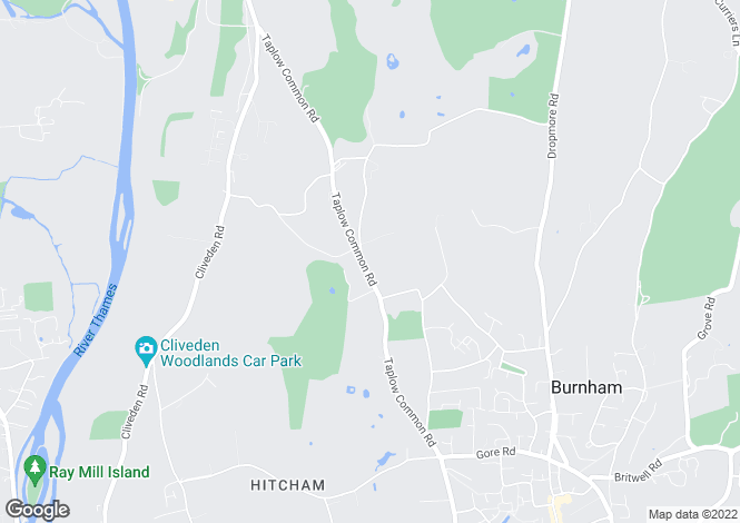 Map for Rose Hill, Burnham, BURNHAM, Buckinghamshire