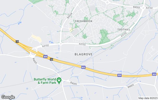 Map for Swindon Homes , Swindon
