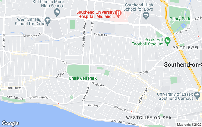 Map for Host Property Limited, Southend-On-Sea