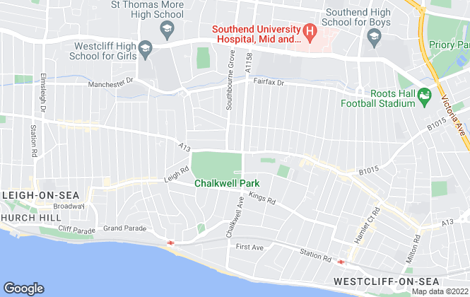 Map for Abode Uk (Nationwide) Ltd , Westcliff-On-Sea