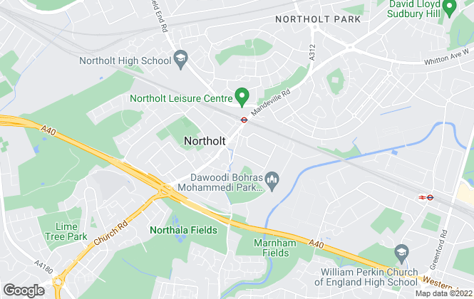 Map for Tony Paul Estate Agents, Northolt