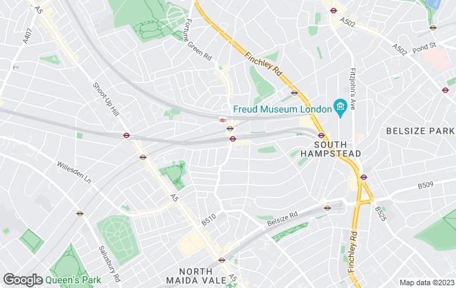 Map for Jaffe Properties LTD, London