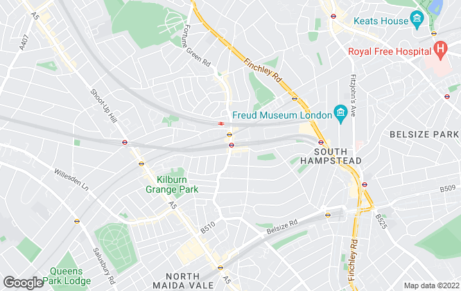 Map for Benham & Reeves , West Hampstead