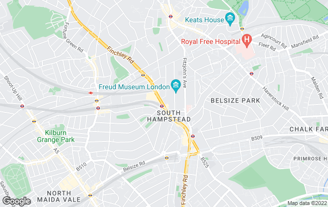 Map for Chelsea Square, South Hampstead