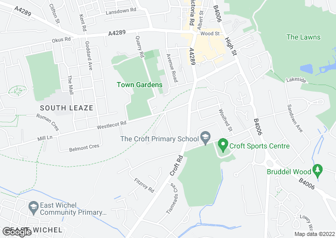 Map for Woodspring Court, Old Town, Swindon, Wiltshire, SN1 4EH
