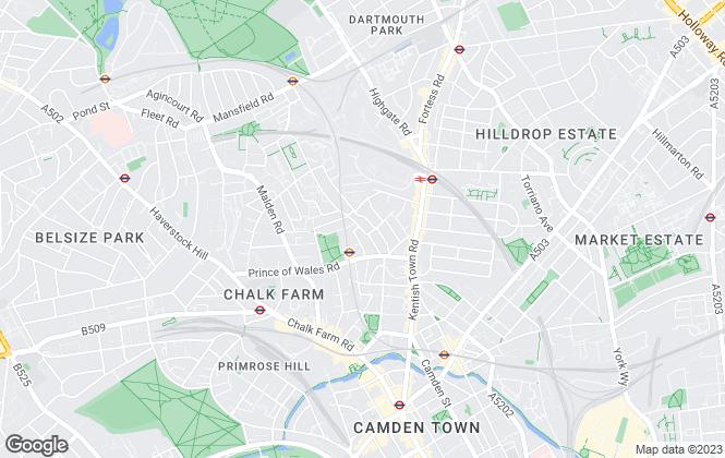 Map for Flats & Studios Property Company LLP, London