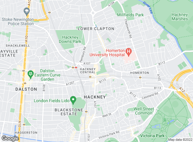 Map for Keatons, Hackney