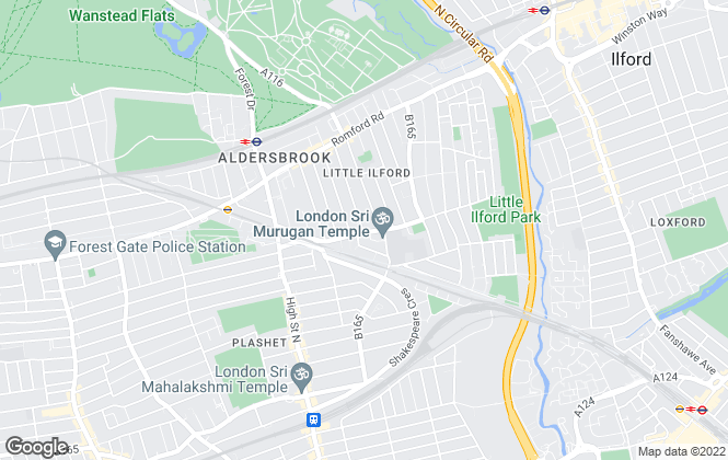 Map for 444 Rentals Ltd, London
