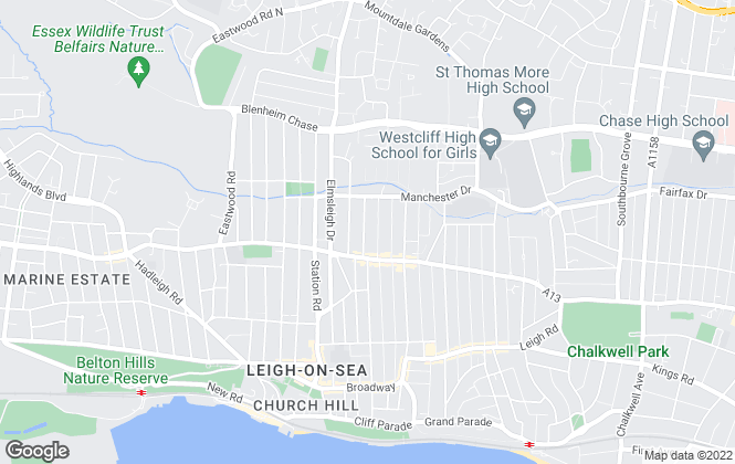Map for Sand Royale, Leigh-on-Sea