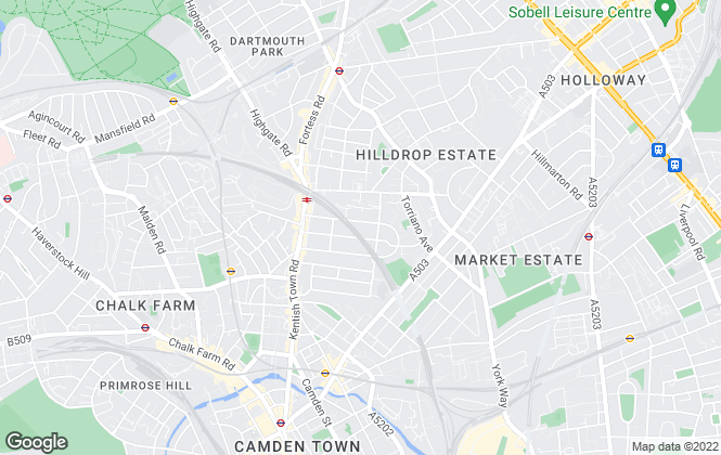 Map for Goodfellow, London
