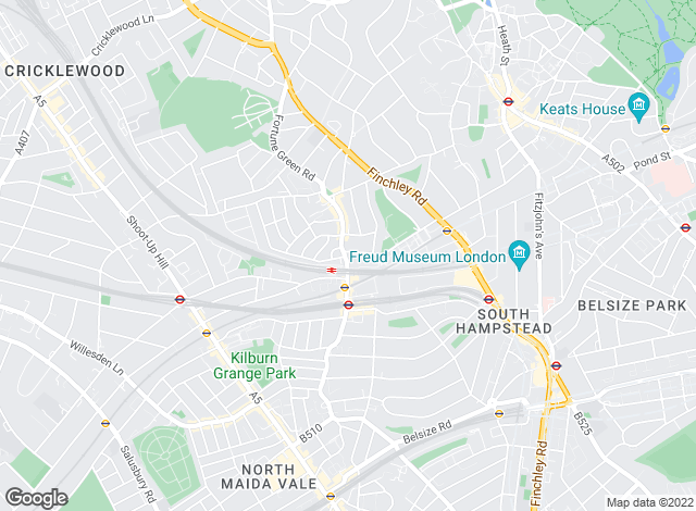 Map for Dutch & Dutch, West Hampstead