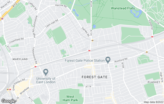 Map for Your Move , Forest Gate
