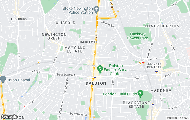 Map for Homefinders, London