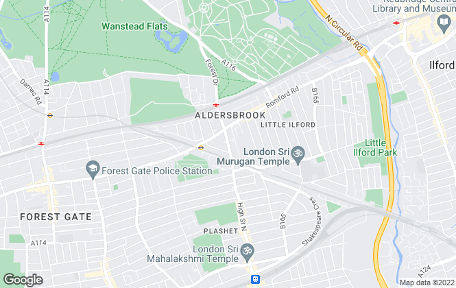 Map for All Seasons Lettings, London