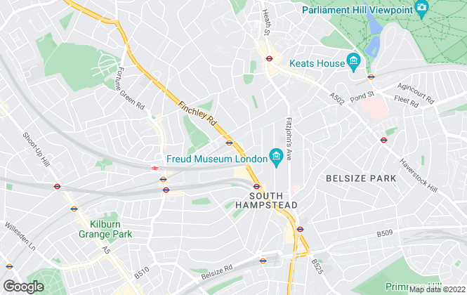 Map for RE/MAX Consultants, Hampstead