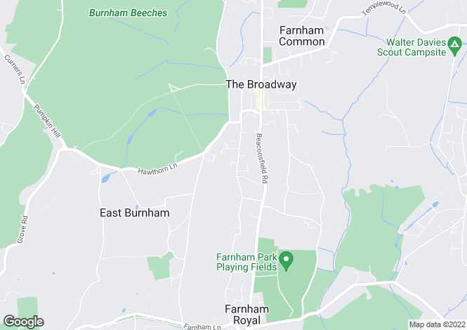 Map for Hill Place, Farnham Common, Buckinghamshire, SL2