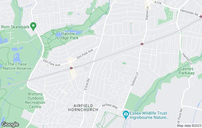 Map for Aventure Intl, Essex