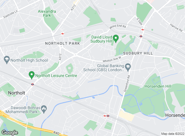 Map for Bairstow Eves, Northolt