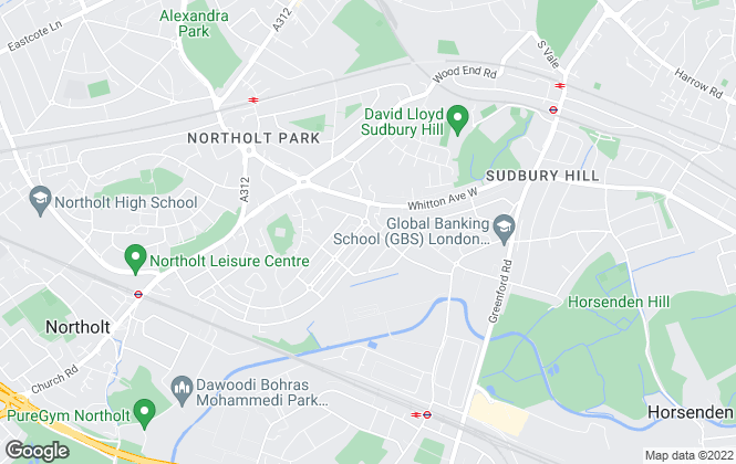 Map for Bennett Holmes, Northolt
