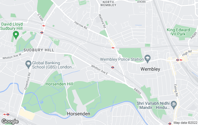 Map for Chase Residential, Wembley