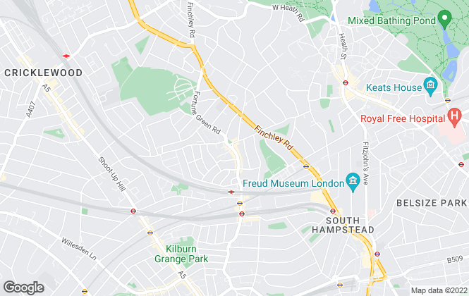 Map for Chelsea Square, West Hampstead