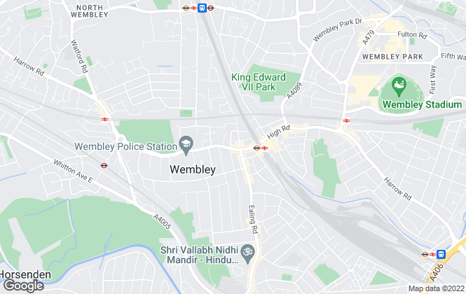 Map for Grey & Co, Wembley