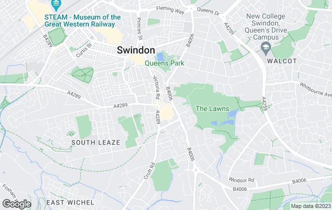 Map for Carter Jonas, Swindon Commercial