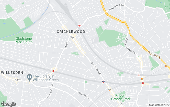 Map for Chelsea Square, Cricklewood