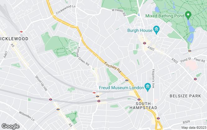 Map for ML Estates, London