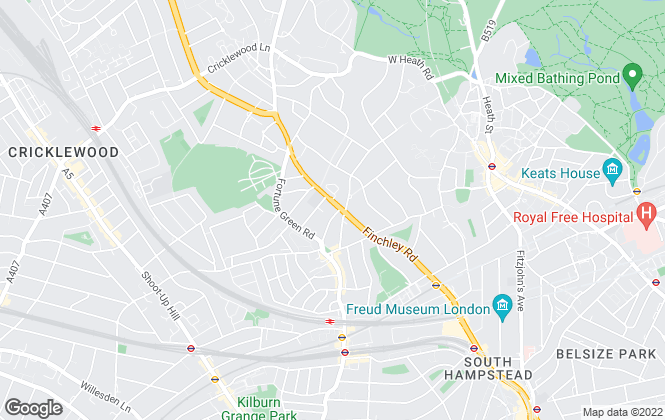 Map for Millennium Residential, Hampstead