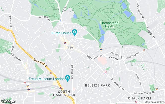 Map for Property Divas Ltd, London