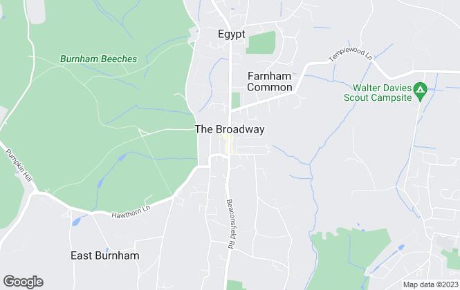 Map for Hilton King & Locke, Farnham Common