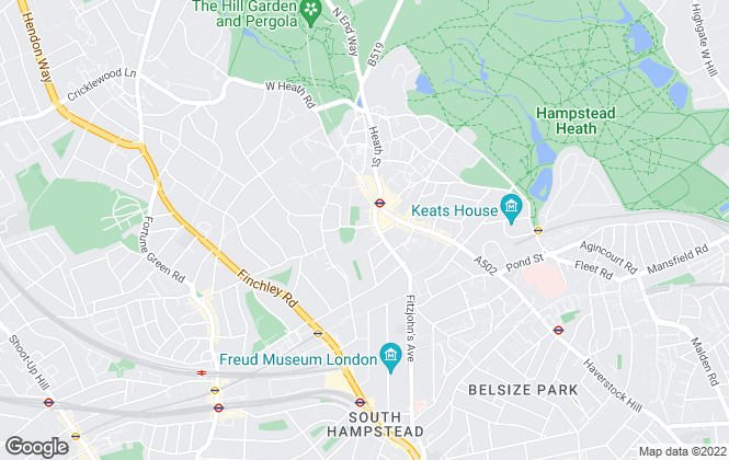 Map for Marcus Parfitt Residential Sales, London