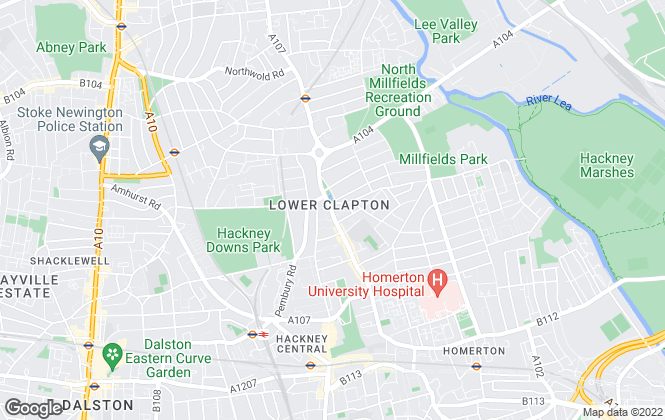 Map for Dimension Estates, London