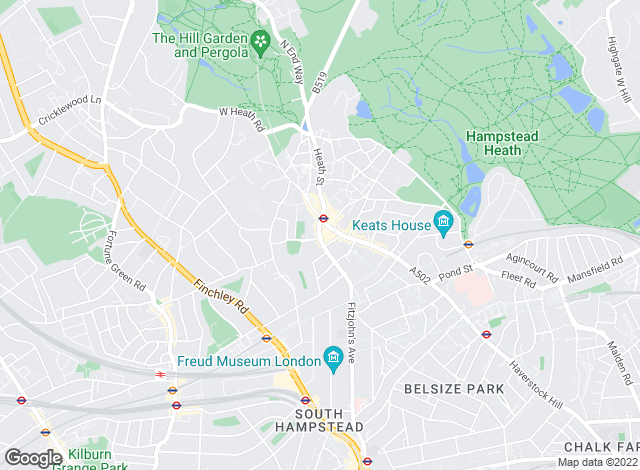 Map for TK International, Hampstead