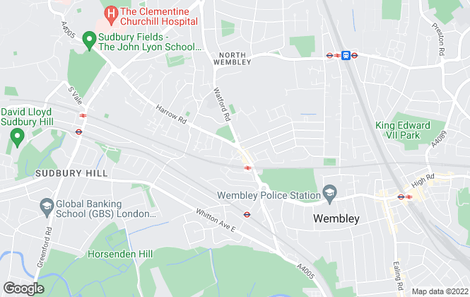 Map for Speedy Lettings, Wembley
