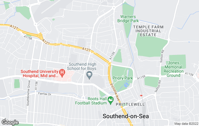 Map for Exquisite Home, Southend-On-Sea