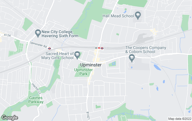 Map for Beresfords Lettings, In Havering