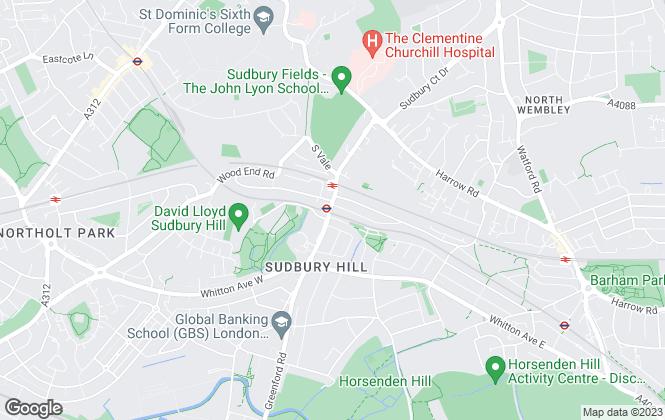 Map for DM & Co, Harrow