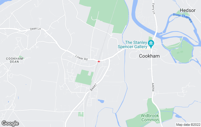 Map for Andrew Milsom , Cookham