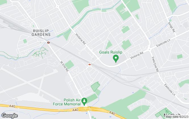 Map for Elliott & Co, Ruislip