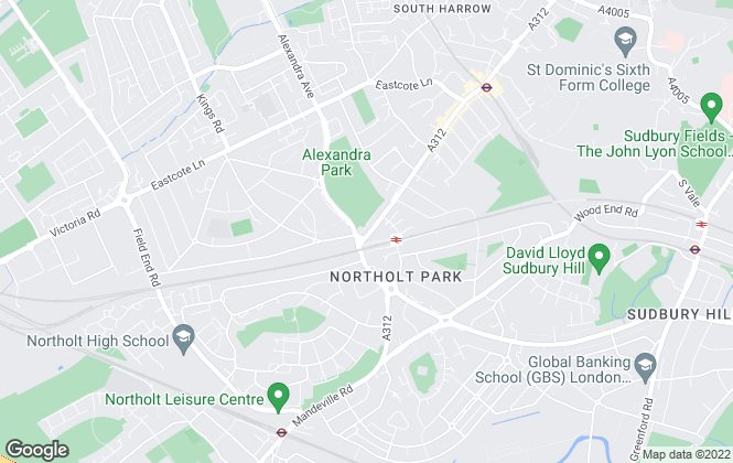 Map for Alexandra Park Estate Agents, Harrow