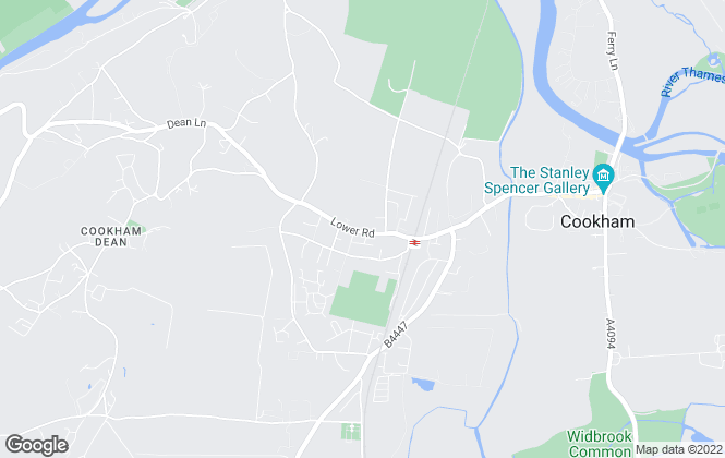 Map for Pike Smith & Kemp, Cookham