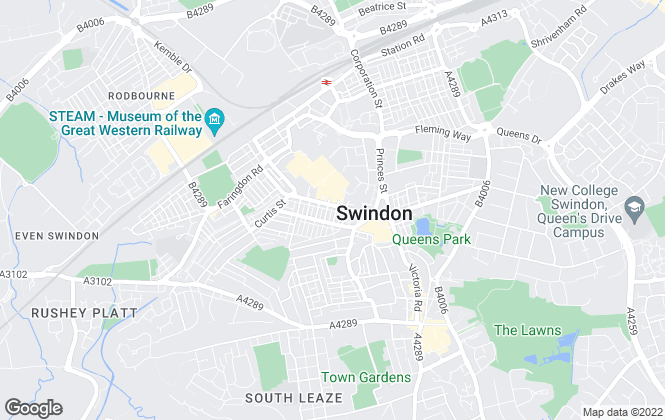 Map for Carringtons, Swindon