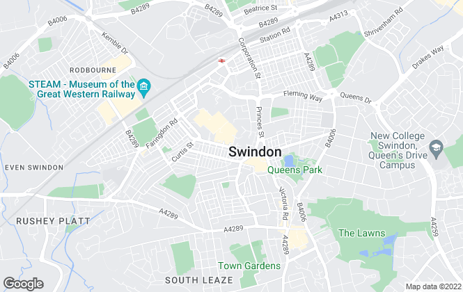 Map for Henry George, Swindon