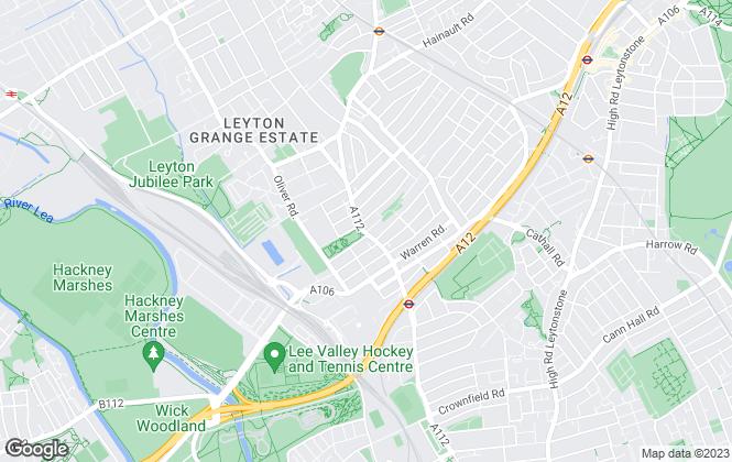 Map for 1 Click Homes Ltd, Leyton