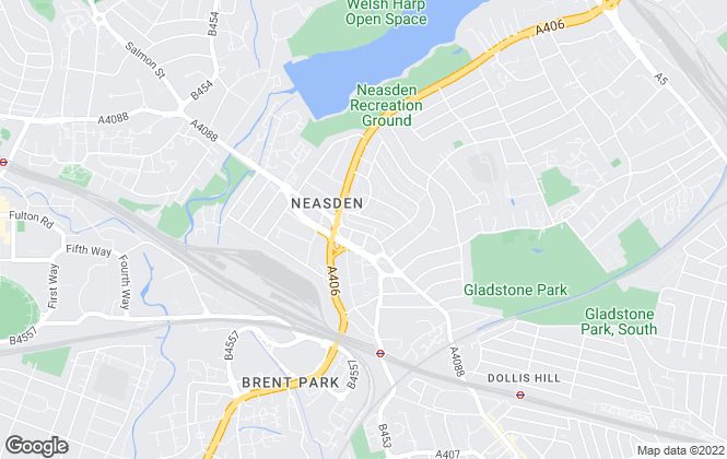 Map for Daniels, Neasden