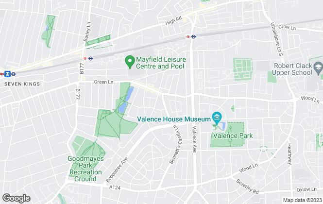 Map for Hamilton Leigh Estates UK, Barking and Dagenham