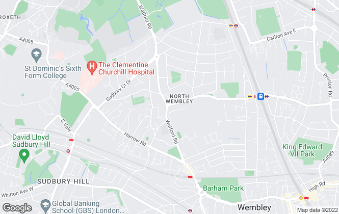 Map for 99home.co.uk, Wembley