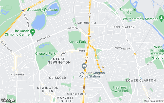 Map for Phillips Estates, London
